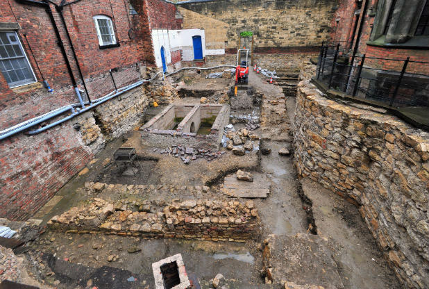 Lincoln Castle Excavations