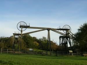 073 - Brinsley Colliery Tandem Headstocks