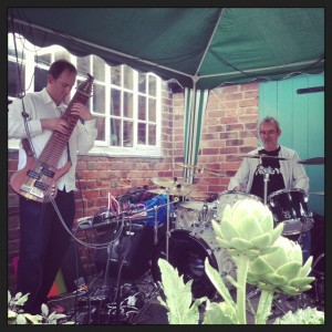King Ned Ludd at Garden Party 2013