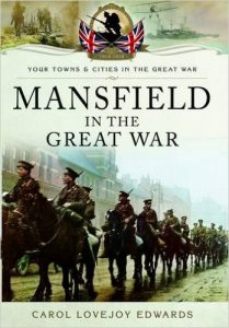Mansfield in the Great War book