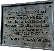Memorial Gardens Plaque