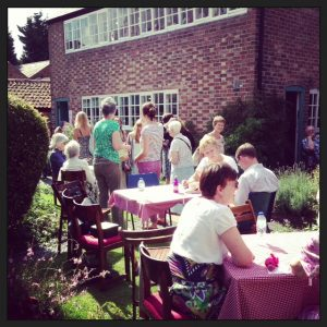 The Garden Party at the Framework Knitters Museum