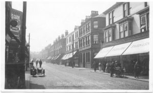 Photograph of Radford Road: Courtesy A P Knighton and www.picturethepast.org.uk