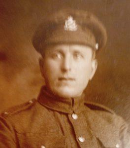 Private Harold Priestley